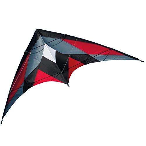 CIM Lenkdrachen - Katana MUSTHAVE Red - Kite für leichten bis kräftigen Wind - Abmessung: 170x90cm -...