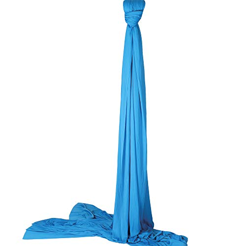 Diabolo Freizeitsport Vertikaltuch 6m in blau + praktischen Baumwollbeutel zur Aufbewahrung   Geeignet...