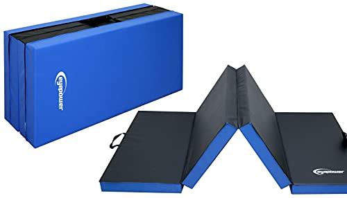 EYEPOWER 200x100 XL Turnmatte für Zuhause - Klappbar - 5cm Gymnastikmatte - Kinder Weichbodenmatte