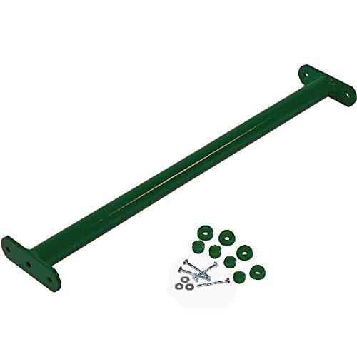 GK Reckstange 125 cm lang, grün beschichtet, inkl. Schrauben mit Abdeckkappen