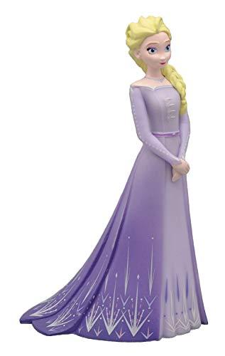 Bullyland Walt Disney, Frozen 2, ELSA mit lila Kleid, Spielfigur mit Details von Hand bemalt, aus PVC -...