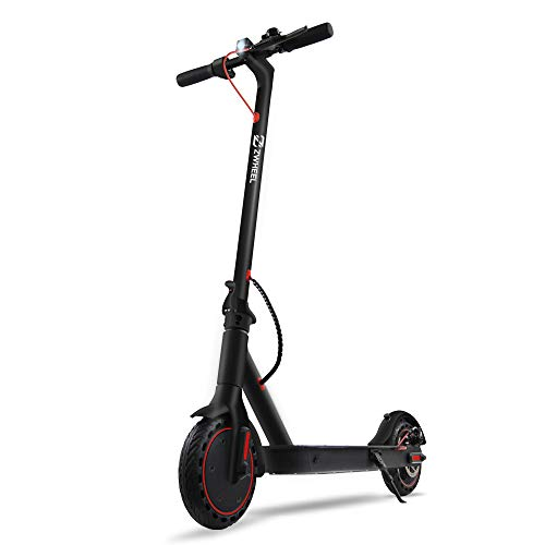ZWHHEL Elektroscooter E9 Basic, E-Scooter für Erwachsene, klappbar, Motor 300W, Anti-Rutsch-Reifen 8,5...