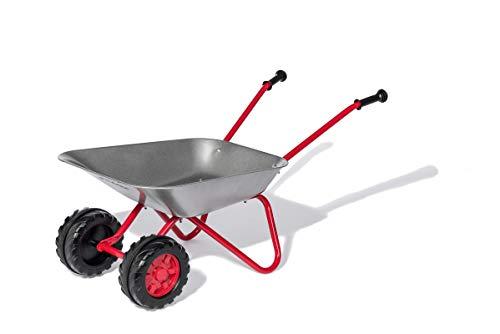 Rolly Toys Schubkarre Metallschubkarre (mit Doppelrad, komfortable Griffe, bis zu 25 kg belastbar, ab 2...