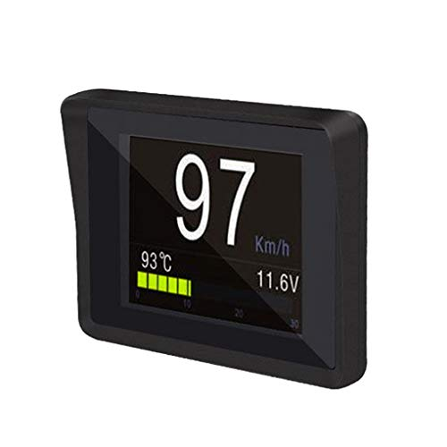 OBD2 HD TFT Auto Geschwindigkeit Windschutzscheibe Projektor Head-Up Display Tachometer Auto Alarm OBD...