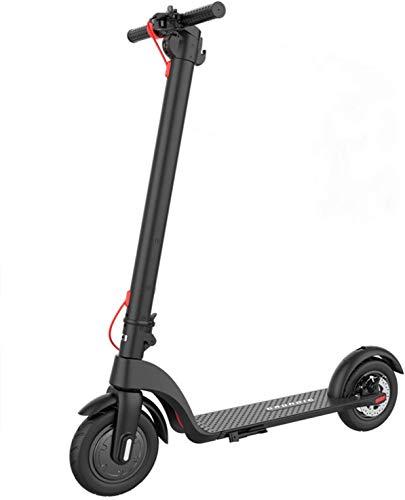 SHNORN Electric Scooter Faltbarer E-Scooter aus Luftfahrtaluminium mit und ohne Straßenzulassung (ABE)...