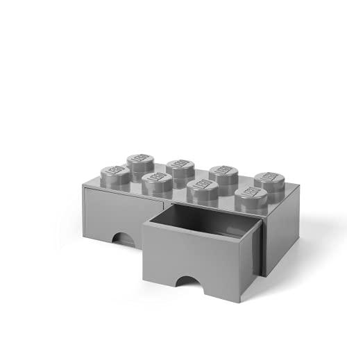 Aufbewahrungsbox 'Aufbewahrungsstein mit 2 Laden' von LEGO
