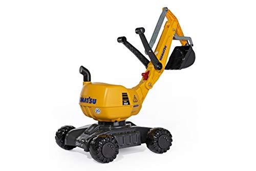 Rolly Toys rollyDigger Komatsu (Sandspielzeug, Farbe grau/gelb, für Kinder von 3-8 Jahre,...