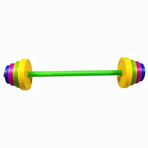 CLISPEED Kinder Langhantel Spielzeug Hand Arm Muskel Krafttraining Kleinkinder Trainingsgeräte Fitness...