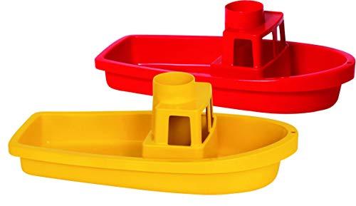 Gowi 559-55 Boot Cuxhaven, farblich Sortiert, einzeln, Wasserspielzeug