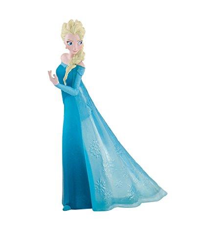 Bullyland 12961 - Spielfigur, Walt Disney Die Eiskönigin - Elsa, ca. 9,5 cm groß, liebevoll handbemalte...