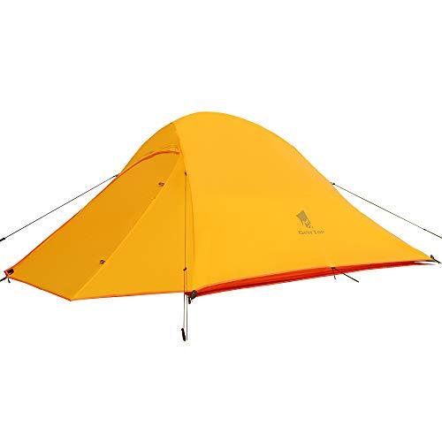 GEERTOP Campingzelt Ultraleichte 2 Personen Doppelten Zelt 3-4 Saison Camping Zelt für Trekking,...