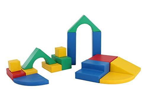 Iglu: XL Softbausteine aus Schaumstoff