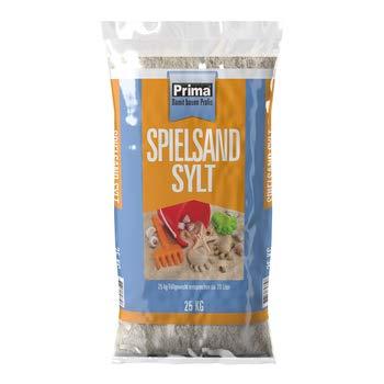 Prima Spielsand Kinder Sandkasten Sand 25 kg - für Sandkästen und Spielplätze - frei von Schadstoffen