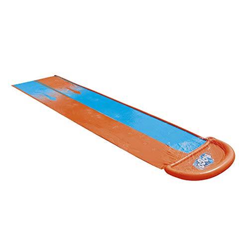 Bestway 1061110XXX20 52328 H2OGO Doppel-Wasserrutsche 488 cm, color