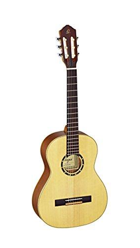Ortega Guitars R121-3/4 Konzertgitarre in 3/4 Größe natur im seidenmatten Finish mit hochwertigem...