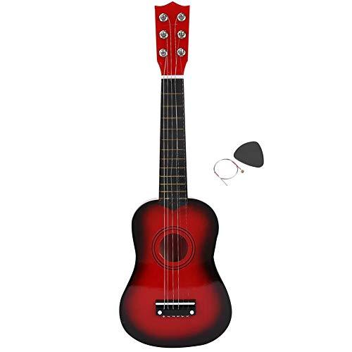 Kinder Spielzeug Gitarre, 6 Saiten Kindergitarre Kinder E-Gitarre mit Licht & Sound E-Gitarre...