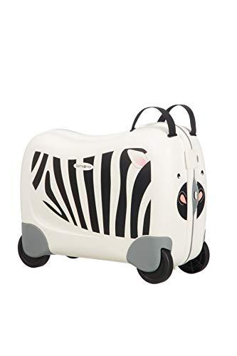 Samsonite Dream Rider - Kindergepäck, 51 cm, 28 L, Weiβ (Zebra Zeno)
