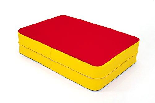 FLIXI Hüpfmatratze – ab 4 Jahre – Turn Matte für Kinder - Spiel Matratze zum Toben - Hüpfen -...