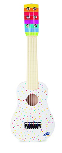 Small Foot by Legler 10382 Gitarre Sound, Musikinstrument für kleine Musiker, im farbenfrohen Design...
