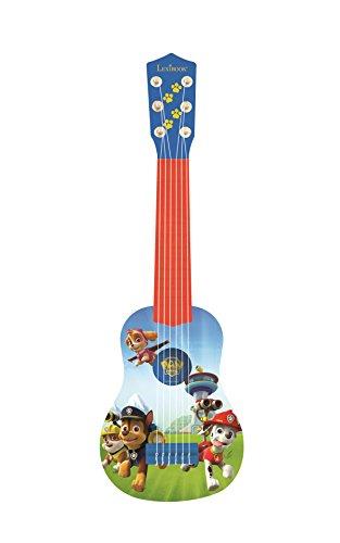 Lexibook K200PA PAW Patrol Helfer auf vier Pfoten Chase Gitarre, 6 echte Nylon Saiten, Groß für die...