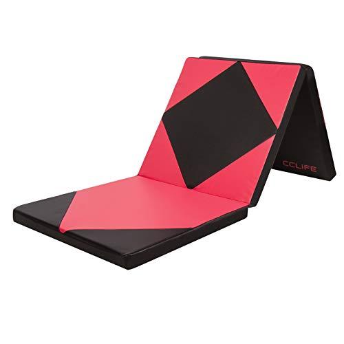 CCLIFE 180x60x5cm Klappbare Weichbodenmatte Turnmatte Fitnessmatte Gymnastikmatte rutschfeste Sportmatte...