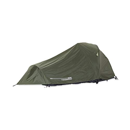 Lumaland Where Tomorrow 2-Personen-Kompakt-Zelt - Pop Up Wurfzelt Trekkingzelt - 245x160x95 cm - Camping...