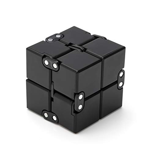 Excellentas Fidget Infinity Cube Unendlicher Würfel - Anti Stess Würfel - Stressspielzeug...
