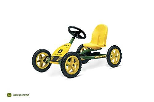 Berg Pedal Gokart Buddy John Deere | Kinderfahrzeug, Tretauto mit Optimale Sicherheid, Luftreifen und...