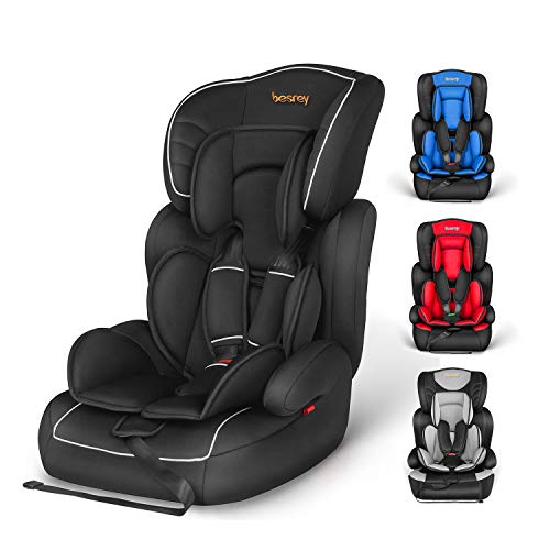 Besrey Kinderautositz Autositz Gruppe 1/2/3 (9-36kg). Auto Kindersitz für Kinder 9 Monaten-12 Jahre. ECE...