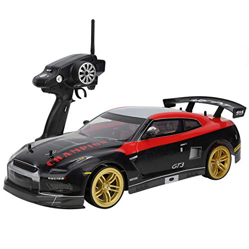 2.4G RC Drift Auto, pfeilschnell 70km/h Super Fast, 1/10 RC 4WD Drift Rennwagen Spielzeug Weihnachten...