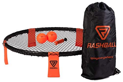 Rashball Roundnet Set   PRO ist bei Uns Standard   Extra verstärkter Ring   Für Anfänger und Profis  ...