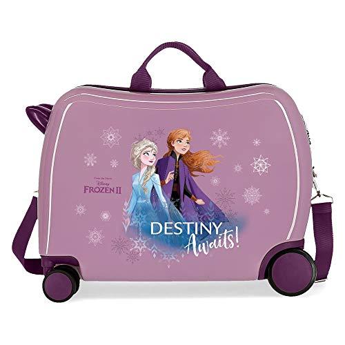 Disney Frozen Die Eiskönigin Destiny awaits Kinder-Koffer Violett 50x38x20 cms Hartschalen ABS...