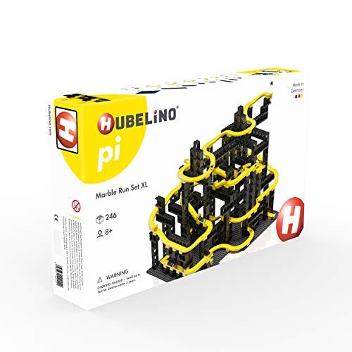 Hubelino 440440 Kugelbahn Set XL (246 Teile), Kompatibel