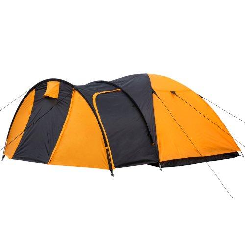 CampFeuer Kuppelzelt für 3 Personen Biglu | für Camping, Outdoor und Wandern inkl. Erdnägel und...