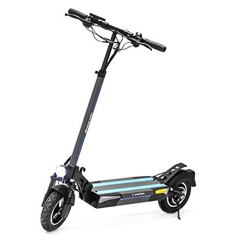 SmartGyro Xtreme SpeedWay Elektroroller 800 W mit 3 Gängen, Geschwindigkeit 25 km/h, Akku 13.000 mAh, 48...