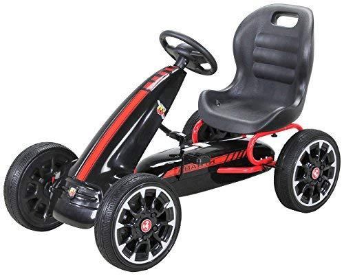 Actionbikes Motors Miweba Gokart Abarth Lizenziert Kinder Pedal Auto Tretauto Kinderfahrzeug Cart Eva...