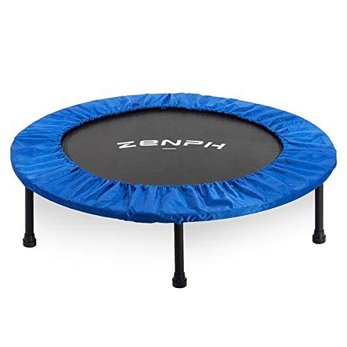 Zenph Fitness-Trampolin, Trampolin Faltbar, Mute Umweltschutz Fußabdeckung,Indoor/Outdoor Trampolin und...