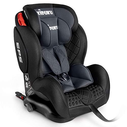 KIDUKU® Kindersitz Autokindersitz mit ISOFIX | Kinderautositz | Autositz mitwachsend | universal |...