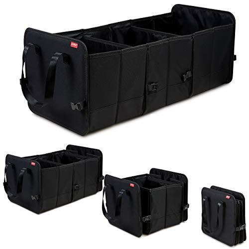 achilles faltbare Autobox, Auto Organizer, größenverstellbare Kofferraumtasche, Faltkorb, Autotasche,...