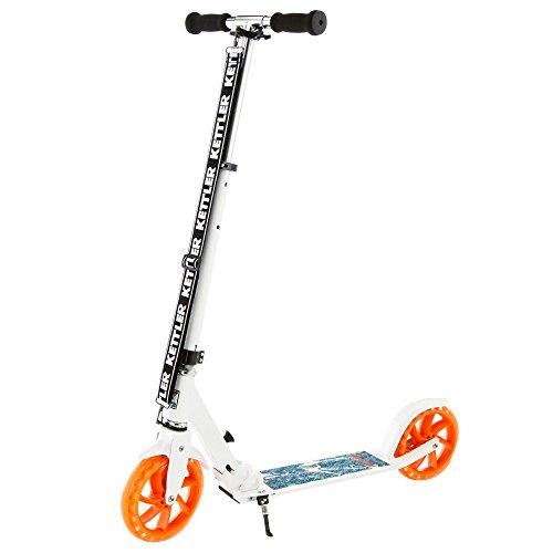 Kettler Roller Zero 8 Authentic Blue – Kinderscooter mit höhenverstellbarem Lenker – Klapproller mit...