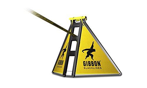Gibbon Slacklines Slackframe, pulverbeschichtetes Metallgestell, Slackline-Gerüst für Slacklinen ohne...