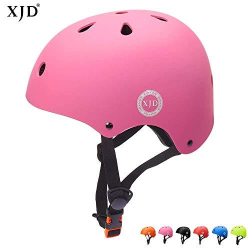 XJD Kinder Helm Fahrradhelm für 3-13 Alt Skaterhelm mit Klassiker 1.0 CE-Zertifizierung Scooter-Helm...