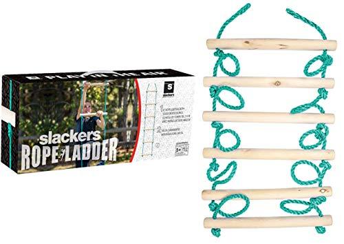 Slackers USA Strickleiter, zusätzliches Tool für die Slackers Ninja Line, Schaukel, Klettergerüst,...
