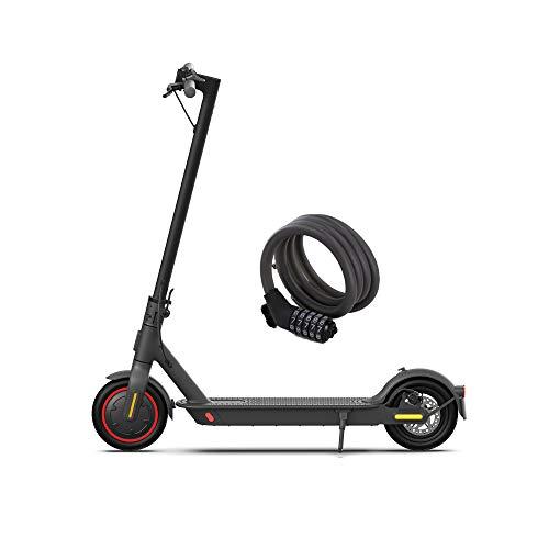 Mi Electric Scooter Pro2, Schwarz, französische Version mit Diebstahlsicherung