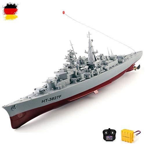 HSP Himoto Original 1:360 Bismarck XXL RC ferngesteuertes Schlachtschiff Schiff-Modell Kriegsschiff...