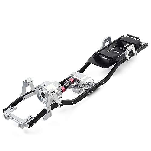 INJORA RC Rahmen Träger 313mm Radstand RC Frame mit Getriebe RC Chassis RC Zubehör für 1/10 RC Crawler...