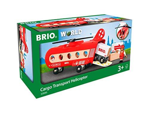 BRIO Bahn 33886 - Eisenbahn-Transporthubschrauber