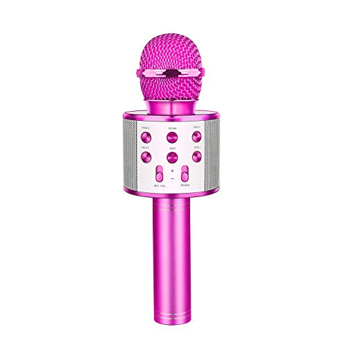 Dreamingbox Geburtstagsgeschenk für Mädchen 4-8 Jahre, Drahtloses Bluetooth Karaoke Mikrofon für...