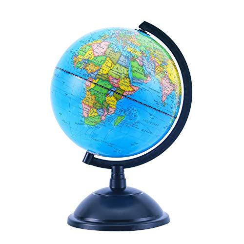 Exerz 20cm Globus Bildung Drehbarer - Karte auf Deutsch -Durchmesser 20cm