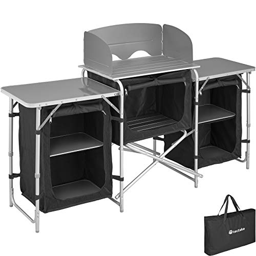 TecTake 800747 Outdoor Camping Küche - Diverse Modelle wähblar - (Typ 1 | Nr. 403344)